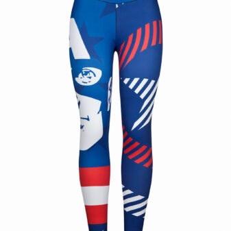 Malla Deportiva Mujer Capitán América