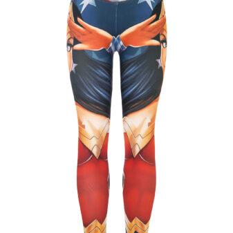 Legging Mujer Maravilla Retro